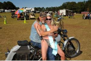 old and single harley man date with younger woman